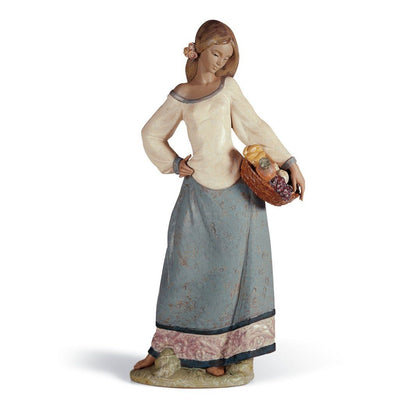 Lladro Porcelain Seasonal Gifts Figurine Gres Finish Figurines Lladro