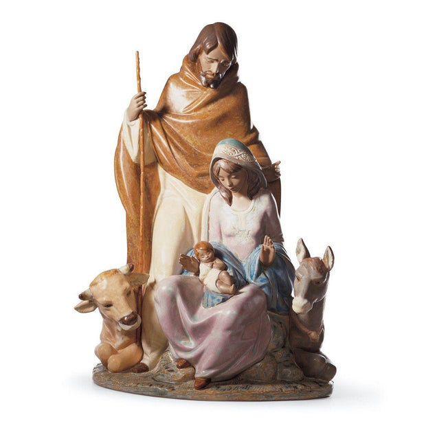Lladro Porcelain Joyful Event Figurine Gres Finish Figurines Lladro
