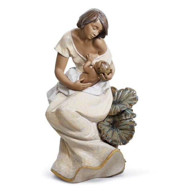 Lladro Porcelain A Beautiful Bond Figurine Gres Finish Figurines Lladro