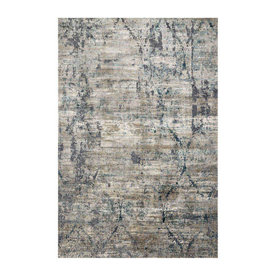 "Loloi Cascade CAS 01 Taupe / Blue Area Rug Rugs Loloi 2' 7"" X 4' Rectangle"