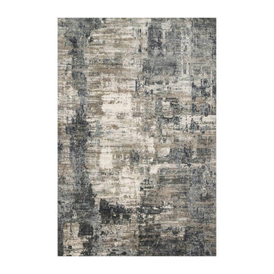 "Loloi Cascade CAS 03 Ivory / Charcoal Area Rug Rugs Loloi 2' 7"" X 4' Rectangle"