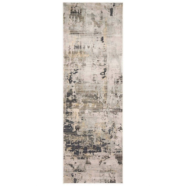 "Loloi Cascade CAS 04 Ivory / Natural Area Rug Rugs Loloi 2' 7"" x 8' Runner"