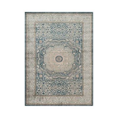 "Loloi Century CQ 01 Blue / Sand Area Rug Rugs Loloi 2' 7"" X 4' Rectangle"