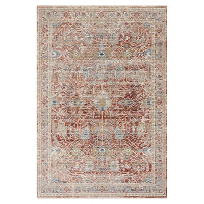 "Loloi Claire CLE 01 Red / Ivory Area Rug Rugs Loloi 2' 7"" x 8' Runner"