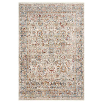 "Loloi Claire CLE 02 Ivory / Ocean Area Rug Rugs Loloi 2' 7"" x 8' Runner"