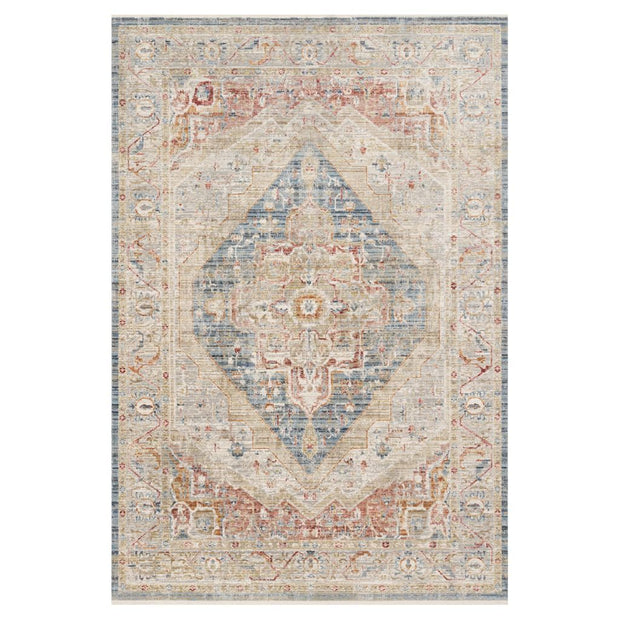 "Loloi Claire CLE 04 Blue / Multi Area Rug Rugs Loloi 2' 7"" x 8' Runner"