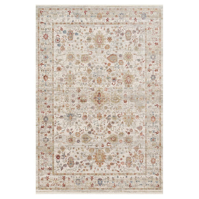 "Loloi Claire CLE 05 Ivory / Multi Area Rug Rugs Loloi 2' 7"" x 8' Runner"