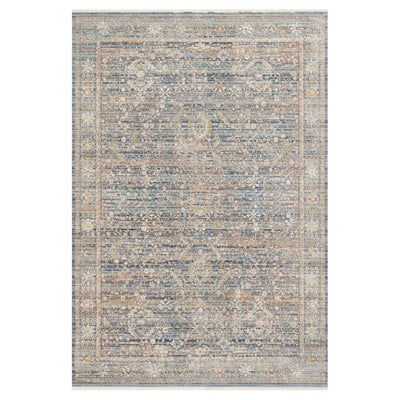 "Loloi Claire CLE 06 Blue / Sunset Area Rug Rugs Loloi 2' 7"" x 8' Runner"