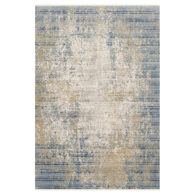 "Loloi Claire CLE 08 Neutral / Sea Area Rug Rugs Loloi 2' 7"" x 8' Runner"