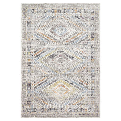 "Loloi II Dante DN 01 Ivory / Multi Area Rug Rugs Loloi II 2' 6"" x 4' Rectangle"