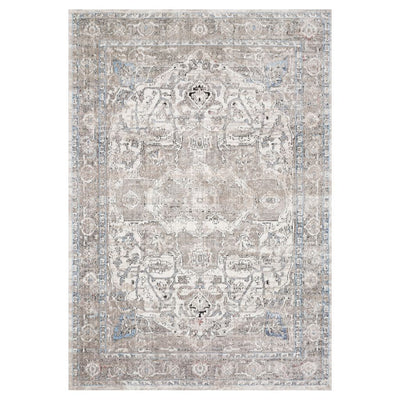 "Loloi II Dante DN 05 Ivory / Stone Area Rug Rugs Loloi II 2' 6"" x 4' Rectangle"