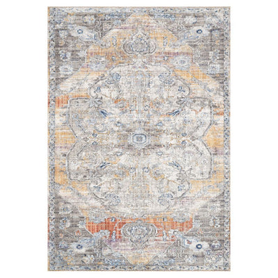"Loloi II Dante DN 06 Natural / Sunrise Area Rug Rugs Loloi II 2' 6"" x 4' Rectangle"