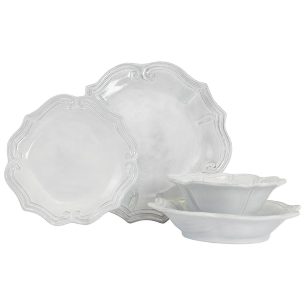 Vietri Incanto Baroque Four-Piece Place Setting Dinnerware Vietri