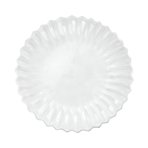 Vietri Incanto Pleated American Dinner Plate Dinnerware Vietri