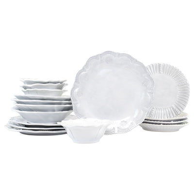 Vietri Incanto Assorted Sixteen-Piece Place Setting Dinnerware Vietri