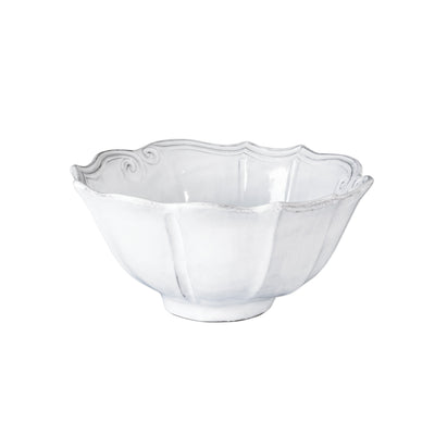 Vietri Incanto Baroque Medium Serving Bowl Dinnerware Vietri