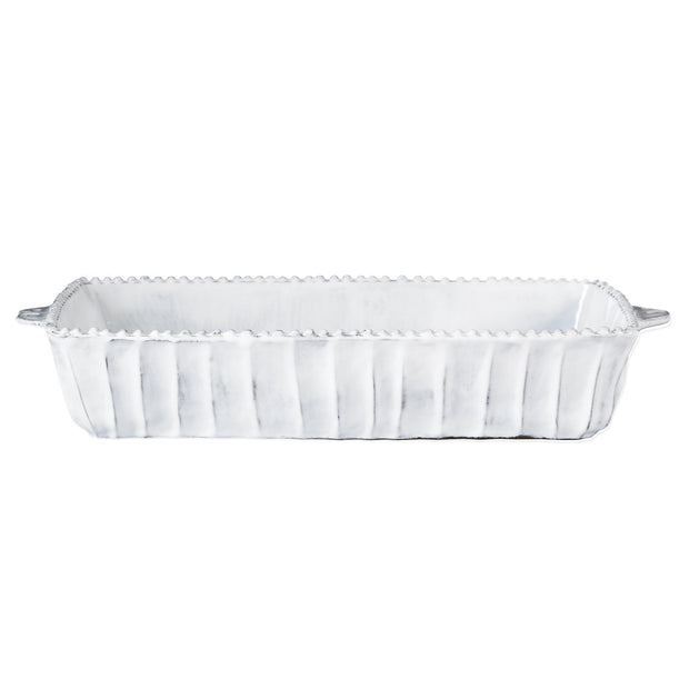 Vietri Incanto Stripe Medium Rectangular Baker Dinnerware Vietri