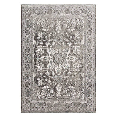 "Loloi Joaquin JOA 01 Charcoal / Ivory Area Rug Rugs Loloi 2' 7"" x 4' Rectangle"