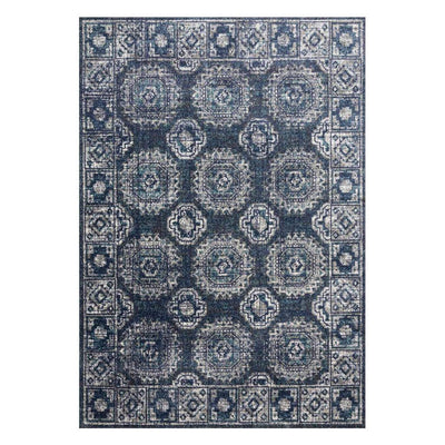 "Loloi Joaquin JOA 03 Denim / Grey Area Rug Rugs Loloi 2' 7"" x 4' Rectangle"