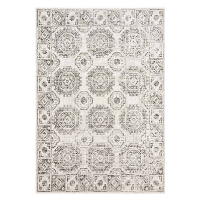 "Loloi Joaquin JOA 03 Ivory / Charcoal Area Rug Rugs Loloi 2' 7"" x 4' Rectangle"
