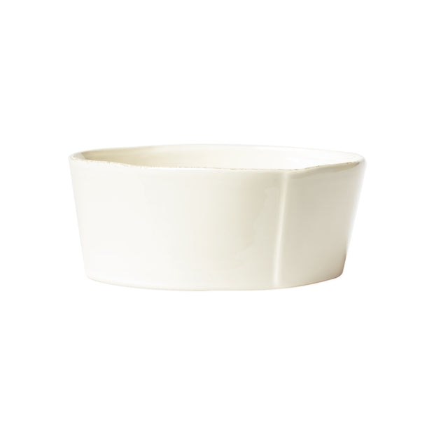 Vietri Lastra Medium Serving Bowl Dinnerware Vietri Linen