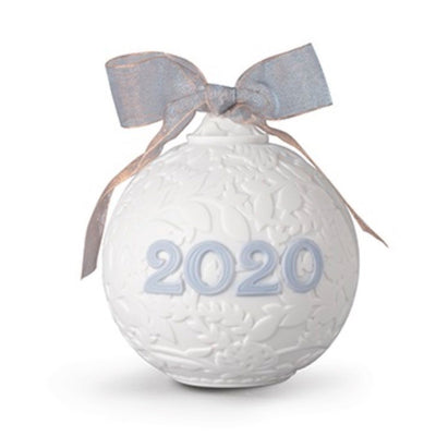 Lladro Porcelain 2020 Ball Christmas Ornament Christmas Ornaments Lladro