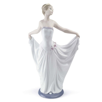 Lladro Porcelain Dancer Ballet Woman Figurine Figurines Lladro