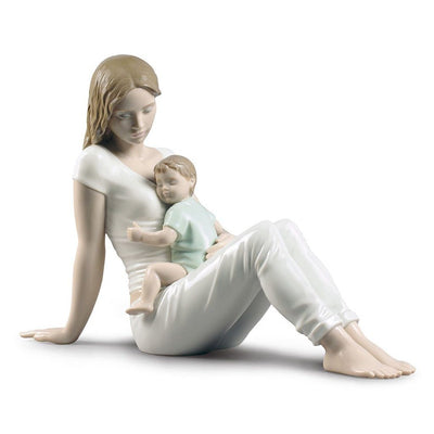 Lladro Porcelain A Mother's Love Figurine Figurines Lladro