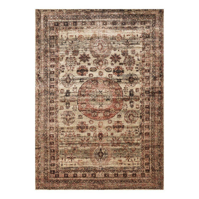 "Loloi Anastasia AF 03 Champagne / Multi Area Rug Rugs Loloi 2' 7"" X 4' Rectangle"