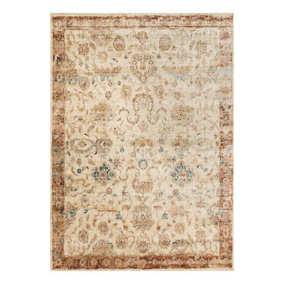"Loloi Anastasia AF 04 Antique Ivory Rust Area Rug Rugs Loloi 2' 7"" x 4' Rectangle"