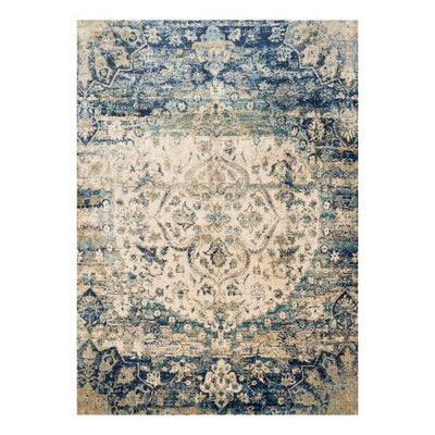 "Loloi Anastasia AF 06 Blue / Ivory Area Rug Rugs Loloi 2' 7"" x 4' Rectangle"