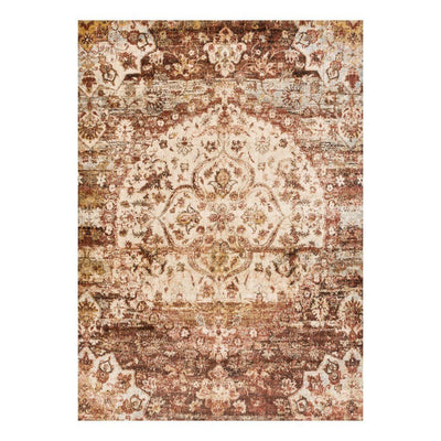 "Loloi Anastasia AF 06 Rust / Ivory Area Rug Rugs Loloi 2' 7"" x 4' Rectangle"