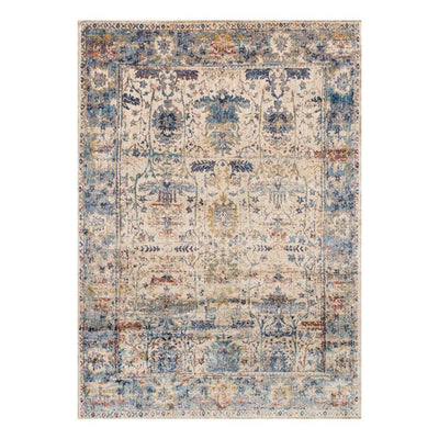 "Loloi Anastasia AF 07 Sand / Light Blue Area Rug Rugs Loloi 2' 7"" x 4' Rectangle"