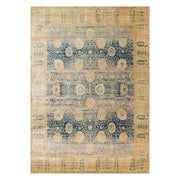 "Loloi Anastasia AF 09 Blue / Gold Area Rug Rugs Loloi 2' 7"" x 4' Rectangle"