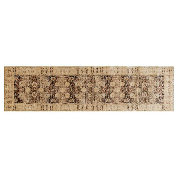 "Loloi Anastasia AF 09 Coffee / Gold Area Rug Rugs Loloi 2' 7"" x 8' Runner"