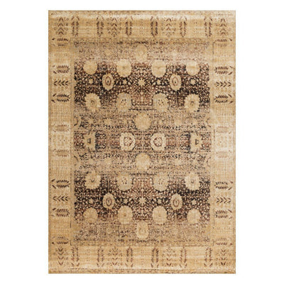 "Loloi Anastasia AF 09 Coffee / Gold Area Rug Rugs Loloi 2' 7"" x 4' Rectangle"