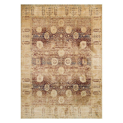 "Loloi Anastasia AF 09 Red / Gold Area Rug Rugs Loloi 2' 7"" x 4' Rectangle"