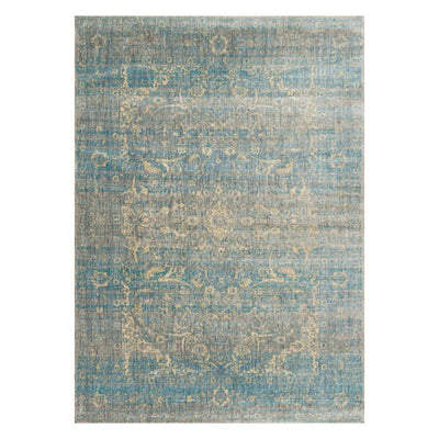 "Loloi Anastasia AF 10 Light Blue Mist Area Rug Rugs Loloi 2' 7"" x 4' Rectangle"