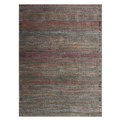"Loloi Javari JV 02 Charcoal Sunset Area Rug Rugs Loloi 3' 7"" x 5' 2"" Rectangle"