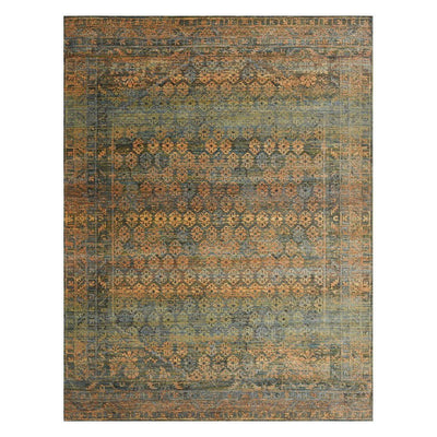 "Loloi Javari JV 03 Lagoon Fiesta Area Rug Rugs Loloi 3' 7"" x 5' 2"" Rectangle"