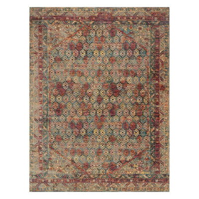 "Loloi Javari JV 03 Slate Berry Area Rug Rugs Loloi 3' 7"" x 5' 2"" Rectangle"