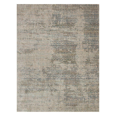 "Loloi Javari JV 05 Ivory / Sea Area Rug Rugs Loloi 3' 7"" x 5' 2"" Rectangle"
