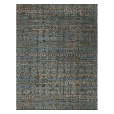 "Loloi Javari JV 07 Steel Lagoon Area Rug Rugs Loloi 3' 7"" x 5' 2"" Rectangle"