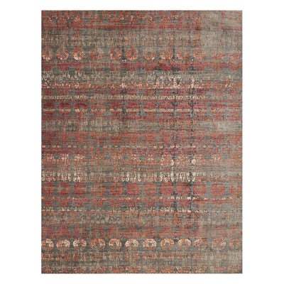 "Loloi Javari JV 07 Steel Sunrise Area Rug Rugs Loloi 3' 7"" x 5' 2"" Rectangle"