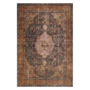 "Loloi Loren LQ 02 Plum Multi Area Rug Rugs Loloi 3' 6"" x 5' 6"" Rectangle"