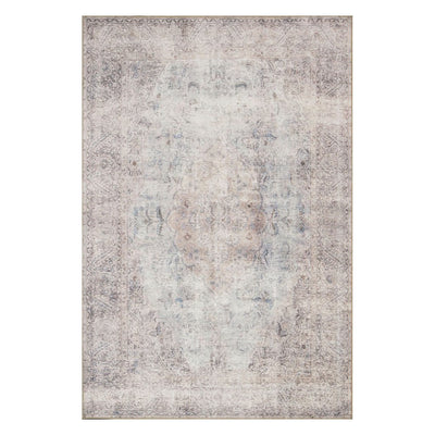 "Loloi Loren LQ 04 Silver Slate Area Rug Rugs Loloi 3' 6"" x 5' 6"" Rectangle"