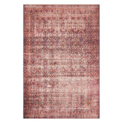 "Loloi Loren LQ 05 Eggplant Crimson Area Rug Rugs Loloi 3' 6"" x 5' 6"" Rectangle"