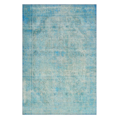 "Loloi Loren LQ 08 Aqua Area Rug Rugs Loloi 3' 6"" x 5' 6"" Rectangle"
