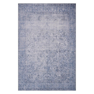 "Loloi Loren LQ 09 Slate Area Rug Rugs Loloi 3' 6"" x 5' 6"" Rectangle"