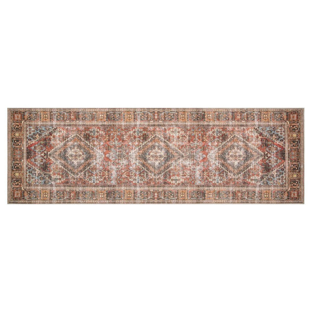 "Loloi Loren LQ 13 Brick Midnight Area Rug Rugs Loloi 2' 3"" x 3' 9"" Runner"
